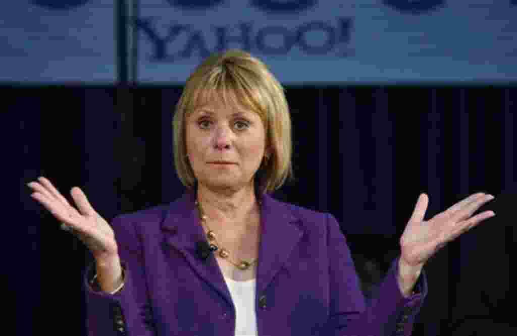 Carol Bartz, mujer de negocios estadounidense, asumió la gerencia general de Yahoo para intentar modificar la pérdida de valor de las acciones de la empresa en la bolsa de valores.