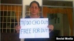 Mẹ của Nguyễn Hữu Quốc Duy được cho là không thể tham dự phiên tòa. (Nguồn: FB Nguyễn Ngọc Như Quỳnh)