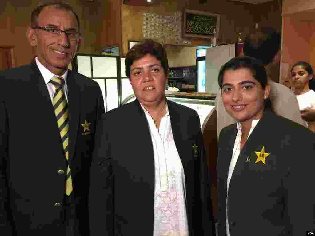 پاکستانی ٹیم ویسٹ انڈیز کے دورے سے واپسی پر چار دن کے لیے امریکہ میں رکی ہے