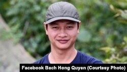 Blogger Bạch Hồng Quyền.