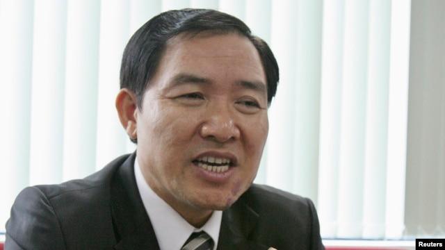 Cựu Chủ tịch Hội đồng Quản trị Tổng công ty Hàng hải Việt Nam (Vinalines) Dương Chí Dũng.