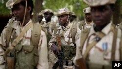 Pripadnici vojnih snaga Čada