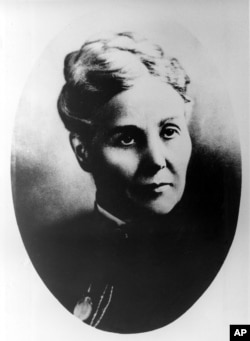 FILE - Anna Marie Reeves Jarvis, who is seen in this undated picture, inspired the creation of Mother's Day as a national holiday.