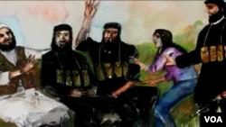 این ویدیو قیصه دختران ایزیدی را در اسارت داعش بیان می کند