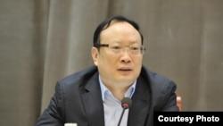 中国国家统计局局长王保安 (资料图片)