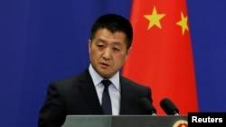 中国外交部新闻发言人陆慷 (资料照片)