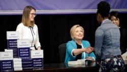Hillari Klintonning yangi kitobi nima haqda?