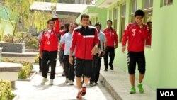 تیم ملی فوتبال افغانستان پس از پیروزی در جام جنوب آسیا
