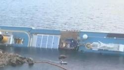 2012-01-20 粵語新聞: 意大利搜救員暫停尋找失事郵輪生還者