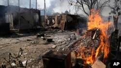 Giao tranh mới ở Ukraine đe dọa thỏa thuận ngừng bắn. Các giới chức EU nói rằng các biện pháp trừng phạt mới nhất có thể đảo ngược được, tùy thuộc vào động thái tiếp theo của Moscow đối với Ukraine - đặc biệt là trong việc tìm kiếm một giải pháp cho cuộc xung đột