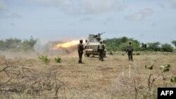 Pasukan Misi Uni Afrika di Somalia menembaki para pejuang al-Shabab di wilayah Shabelle. (Foto: Dok)