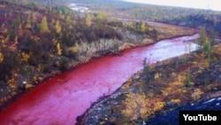 Загрязнение реки Далдыкан