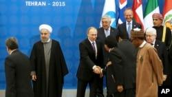 Тегеран, Иран. 23 ноября 2015 г.