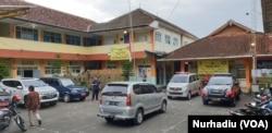 SMP N 1 Turi Sleman, DI Yogyakarta. (Foto:VOA/Nurhadi)