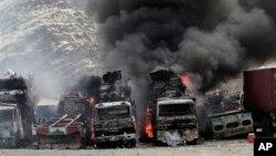 Последствия атаки талибов 2 сентября 2013г.
