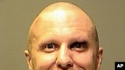 Jared Lee Loughner, the suspect in the attempted assassination of U.S. Congresswoman Gabrielle Giffords, shown in U.S. Marshals handout photograph, 10 Jan 2011