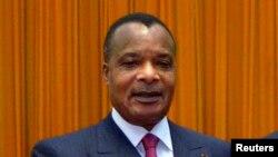 Denis Sassou Nguesso, président du Congo