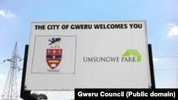 Gweru Sign POst