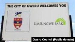 Gweru Sign POst