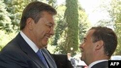 Зустріч президентів Віктора Януковича і Дмитра Медведєва в Сочі