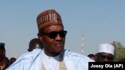 Muhammadu Buhari, l'opposant candidat à l'élection présidentielle du 28 mars au Nigéria