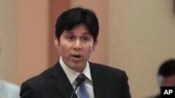 Ketua Senat negara bagian California Kevin de Leon, di Los Angeles. (Foto: Dok)