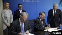 Cuba era el único país de América Latina que carecía de un acuerdo de diálogo político con la UE.