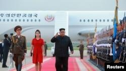 朝鲜领导人金正恩2018年6月20日访问北京。