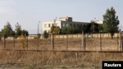 A general view shows an old military depot near the Russian-Ukrainian border in the town of Boguchar, south of Voronezh, Russia, Sept. 21, 2015.