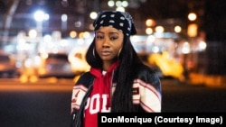 DonMonique is a 23-year-old rising artist from Brooklyn, New York. (Photo by Dutty Vannier/ASSEMBLY9)