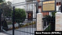 Zgrada ambasade Rusije u Podgorici