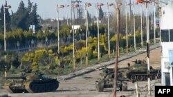 Uobičajena pojava: Tenkovi na ulicama Sirije