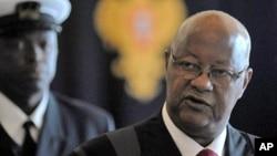 Carlos Gomes-Júnior, primeiro-ministro deposto da Guiné-Bissau