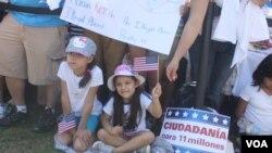Miles asisten a pedir la reforma migratoria