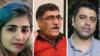 اسماعیل بخشی، علی نجاتی، و سپیده قلیان، افرادی هستند که در حاشیه تجمعات اعتراضی کاگران هفت تپه بازداشت و زندانی شدند.