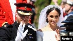 میگن مرکل اور برطانوی شہزادے ہیری کی شادی 19 مئی 2018 کو ہوئی تھی۔