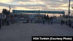 Türkiye ile Suriye arasında Akçakale sınır kapısı