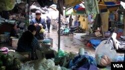 بازار هانوی در ویتنام