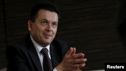 FILE - Independent South Australian Senator Nick Xenophon.