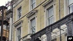 Britanski policajci danas ispred libijskog veleposlanstva u središtu Londona