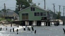 Море наступает на Нью-Джерси