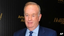 Bill O'Reilly, lors d'un événement organisé par 'The Hollywood Reporter' à New York, le 6 avril 2016