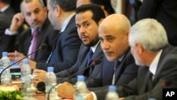 13일 알제리에서 리비아 폭력 사태를 끝내기 위한 평화협상이 열렸다.