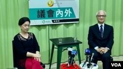 中国维权律师关注组创会成员、香港大律师张耀良9月25日接受民主党前主席刘慧卿网台节目访问,谈及12名被扣押深圳市盐田看守所港人的情况,认为并不乐观。 (美国之音/汤惠芸)