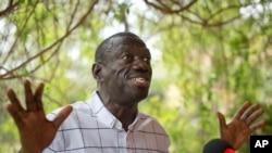 乌干达反对派领袖、总统候选人贝西耶。(资料照片)