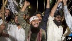 Učesnici protesta u Islamabadu