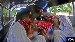 کراچی میں تشدد