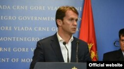 Crnogorski ministar finansija Raško Konjević (rtcg.me)