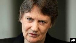 前新西兰总理海伦·克拉克。(资料照片)