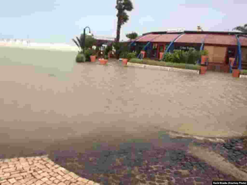 Furacão Fred, efeito na ilha so Sal, Cabo Verde